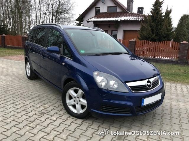 Opel Zafira 1.9 CDTI 120 KM, 7 osbowa, Klima, Niemiec, Okazja !!!