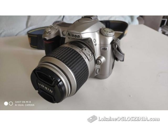 Aparat Nikon D50