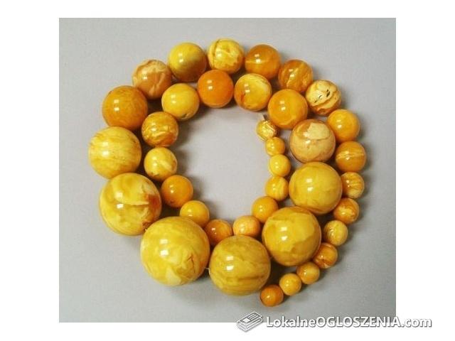 Skup Biżuterii z bursztynu ( Kulki, oliwki, surowe kamienie)