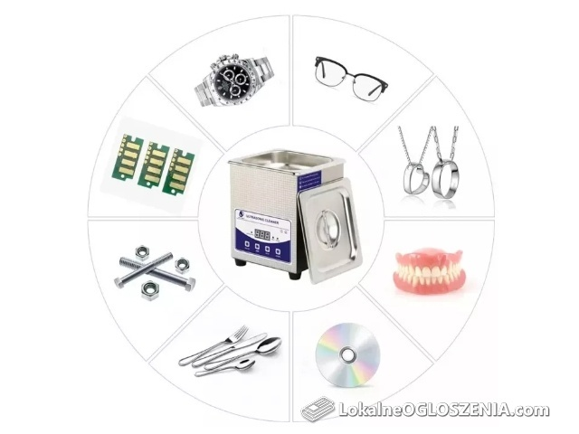 Myjka ultradźwiękowa pojemność 2L 3L 6L 10L 15L 22L 30L NOWA! Promocja