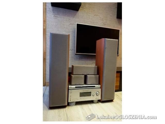 Kino domowe Sony STR-DG500 + 5x głośniki + DVD