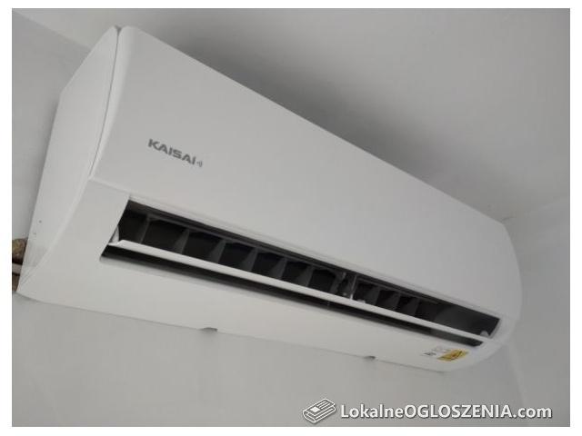 Klimatyzator 3,5 kW z montażem, WiFi, czynnik R32, klimatyzacja