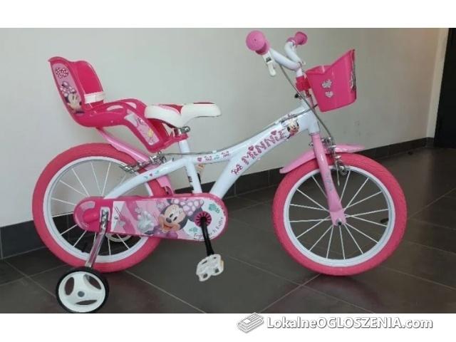 Rowerek rower Frozen Kraina Lodu rower Minnie Mouse Disney 16 cali