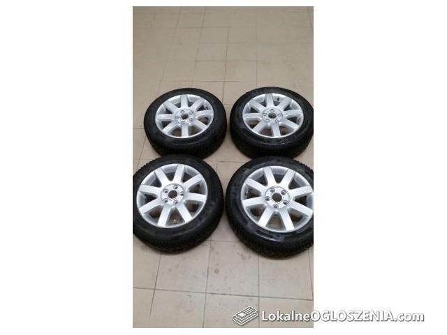 Koła zimowe VW alufelgi 6,5Jx16 ET50 opony 205/55 R16 Krisalp HP3 94V