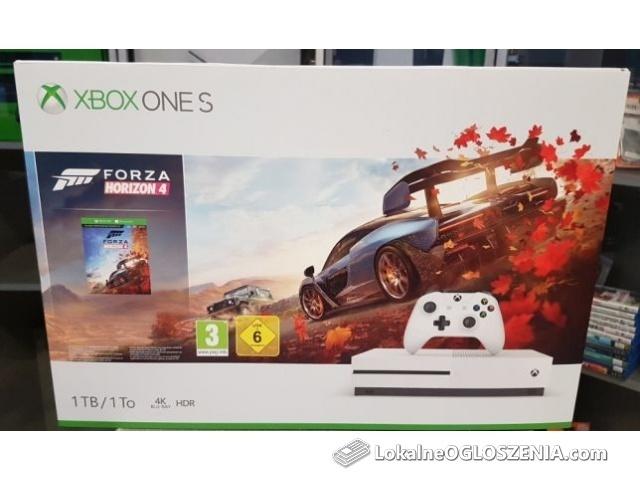 Konsola XBOX ONE S 1000GB / 1TB + Forza Horizon 4 PL
