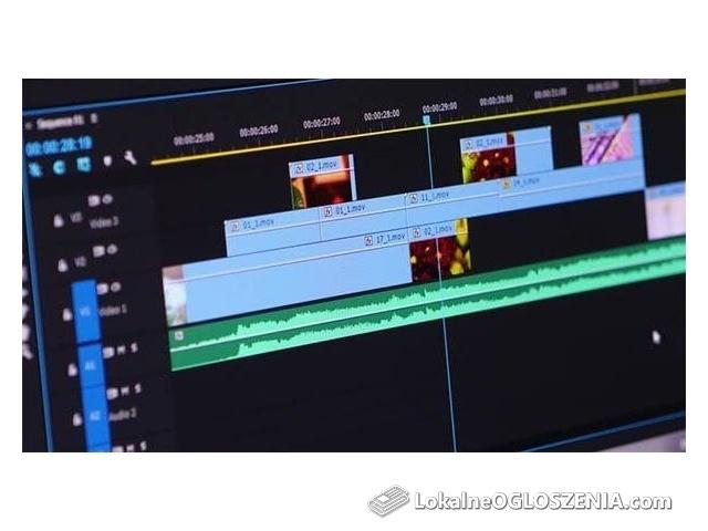 Montaż Wideo, Efekty Wszelkiego Rodzaju, Korekcja Kolorów