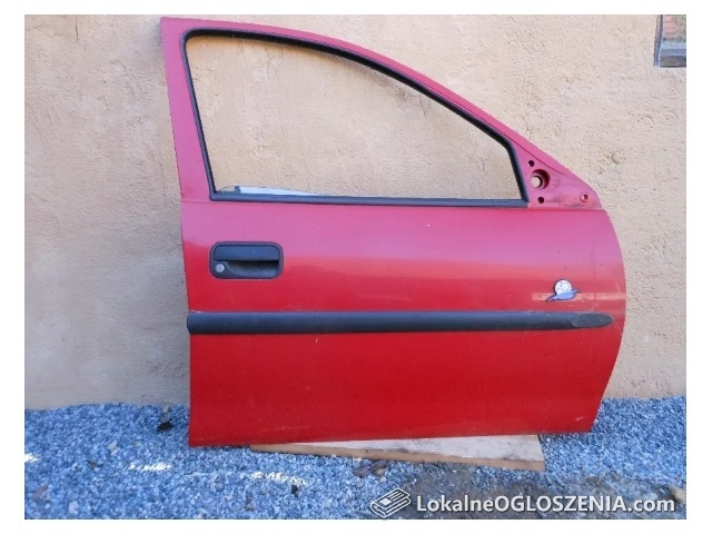 Drzwi przednie prawe Opel Corsa B 5-drzwiowe