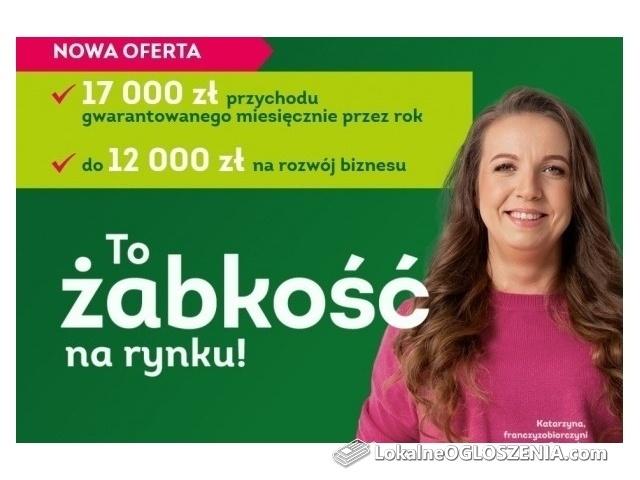 Poprowadź własny sklep Żabka we Włocławku