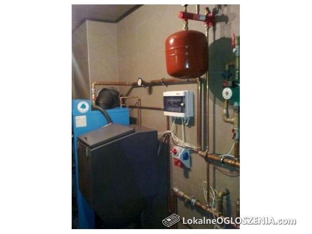 Instalacje centralnego ogrzewania, wod-kan ,odkurzacze centralne