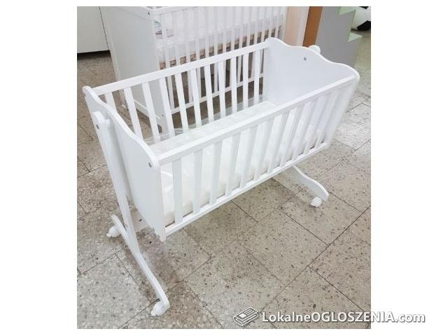 NOWA kołyska niemowlęca, dla dziecka, biała