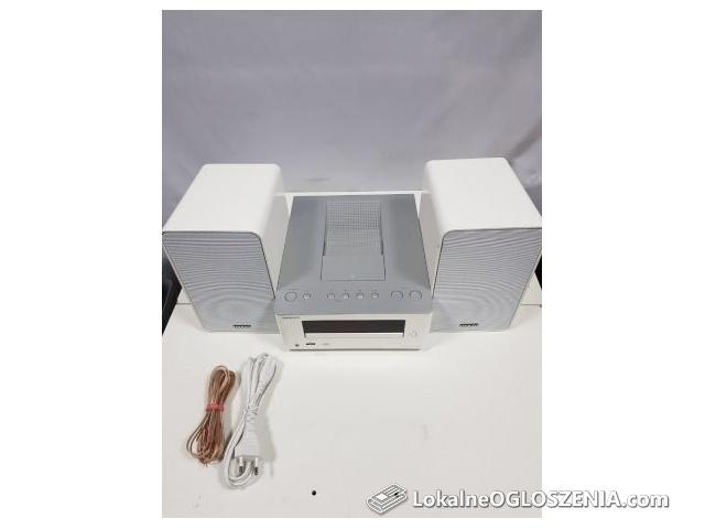 Wieża ONKYO CR-245 kolor biały, ipad/ipod, CD, Audio in.