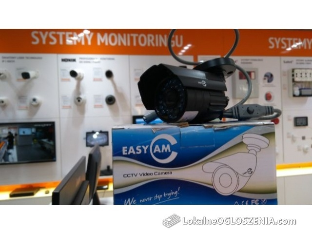 Kamera HD 720p monitoring przemysłowa cctv EasyCam CVI AHD TVI CVBS