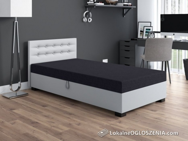 Łóżko hotelowe młodzieżowe Tapczan jednoosobowy 90/195 Producent 48