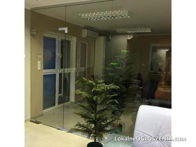 Prestiżowe i lekkie ścianki szklane, drzwi i balustrady ze szkła !
