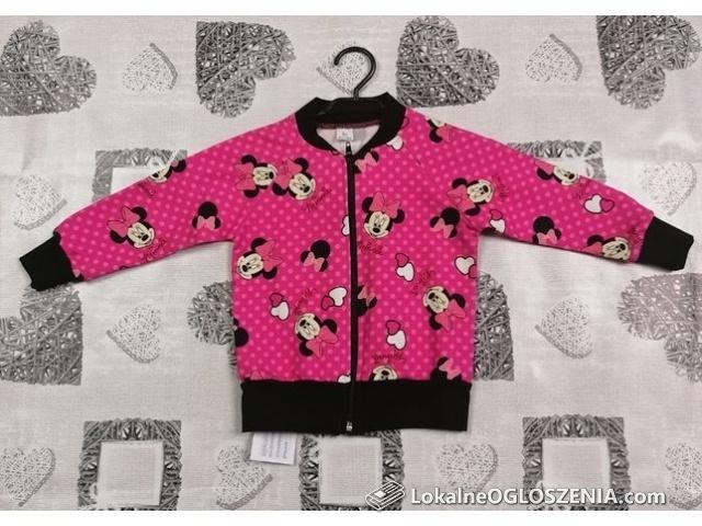 Bluza Rozpinana Myszka Minnie Różowa