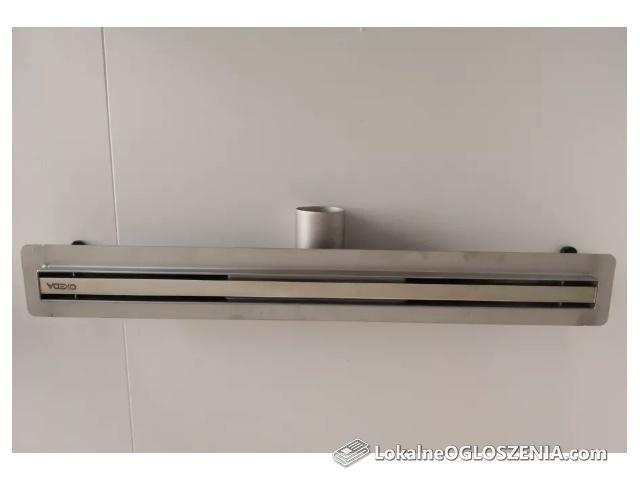 Prysznicowy odpływ liniowy Ultra Slim ze stali nierdzewnej 50cm