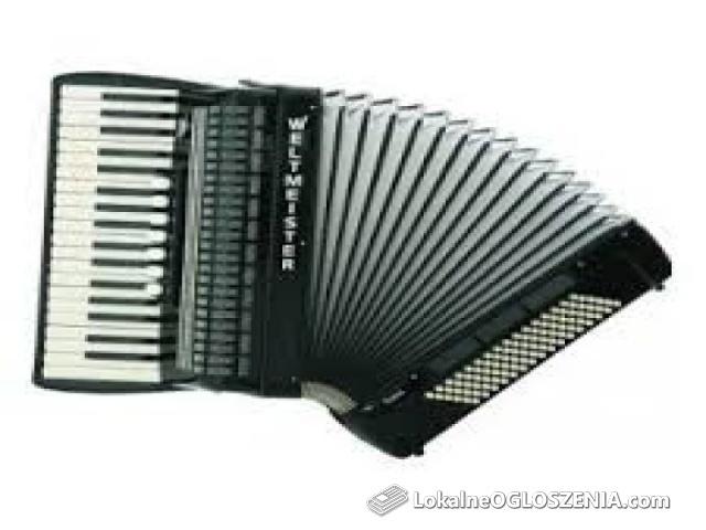 śpiewajacy akordeonista / usługi muzyczne również jako dj