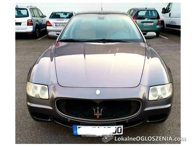 Maserati quattroporte 120000km przebieg