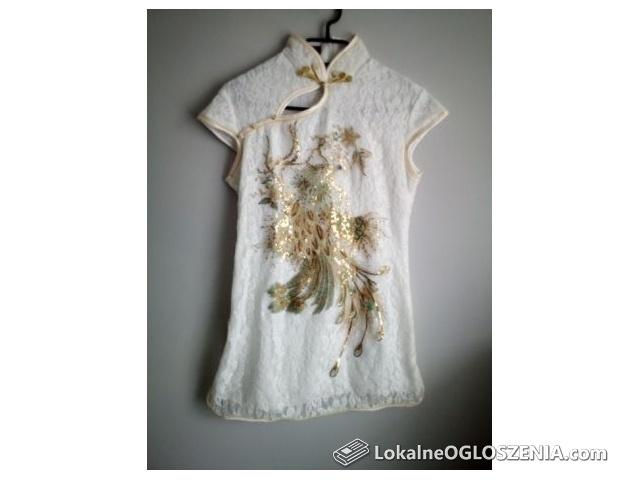 Bluzki tuniki kardigany odzież używana