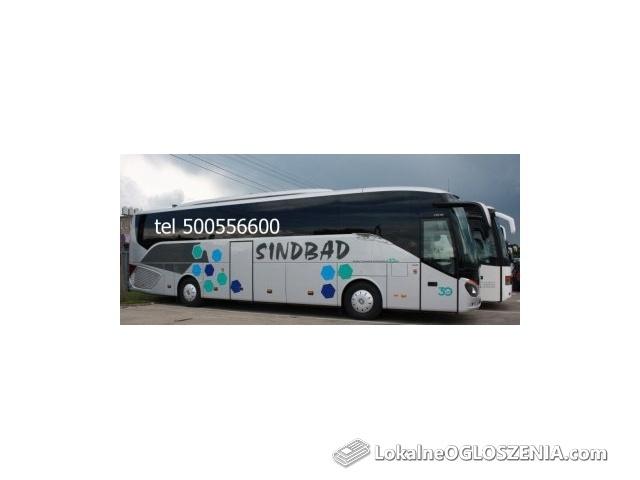 Bilety Autobusowe tel 500556600