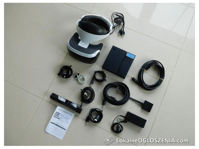 Gogle Sony PlayStation VR PlayStation 4 PS4 + Kamera