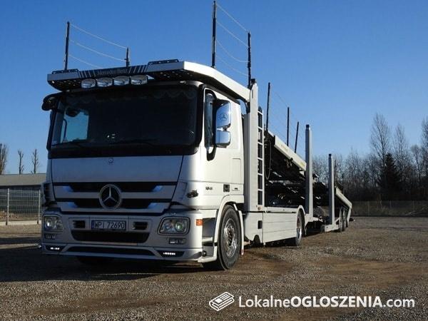 Transport AUT z Niemiec/Belgii/Holandii/USA Sined