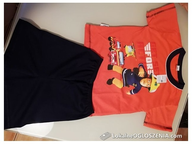 Piżama strażak Sam r 104