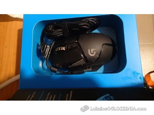 Myszka LOGITECH G502 dla gracza