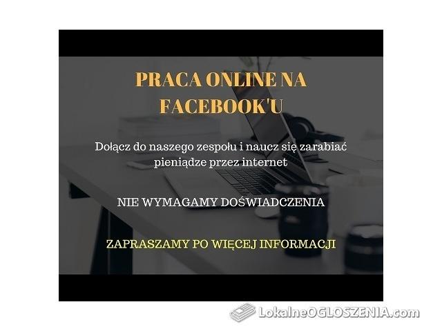 Praca online na Facebook'u