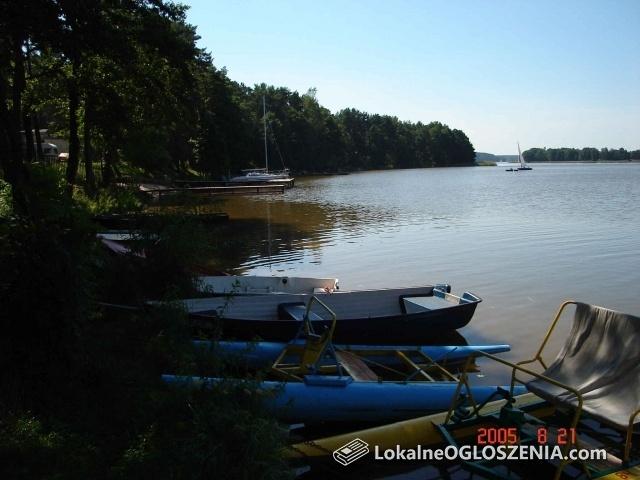Domek letniskowy nad jeziorem, Natać Mała, Mazury