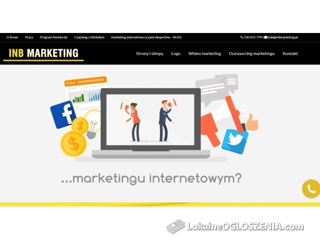 Agencja reklamowa - INB Marketing Sp. z.o.o.