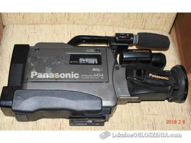 KAMERA ANALOGOWA PANASONIC NV-MS4E S-VHS