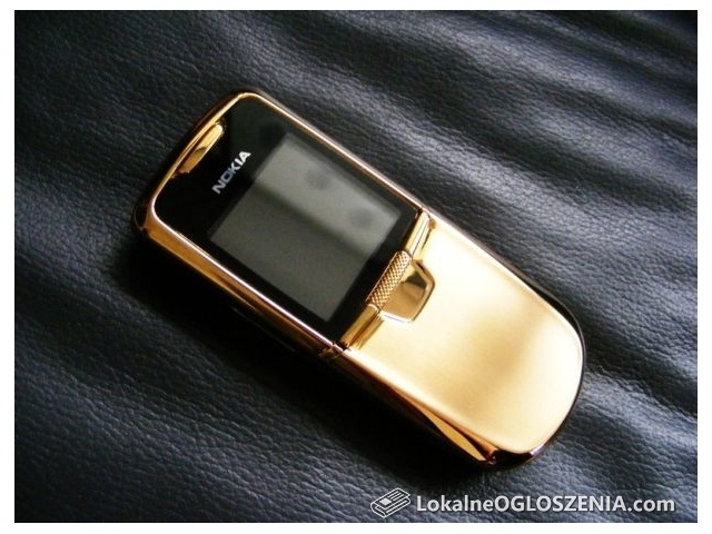 Nokia 8800 Gold Edition (24k złoto, oryginał, ideał)