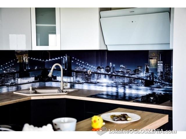 Lacobel, szkło do kuchni, szyba, szkło z grafika, lustro